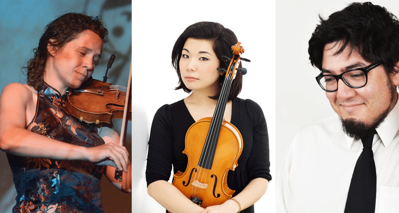 Bird's Eye Trio: Jen Curtis, Ayane Kozasa & Paul Wiancko