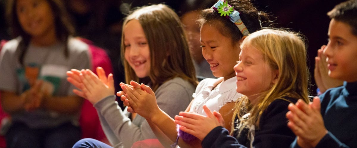 Children enjoying a program at LiveConnections